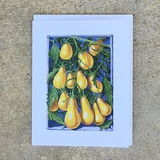 Yellow Pear Tomato Notecard