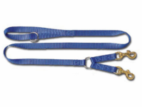 3/4 x 4 ft. Standard Nylon Lead for 2-Dogs
