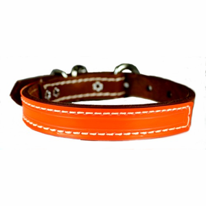 3/4 inch wide Reflecto DF Leather