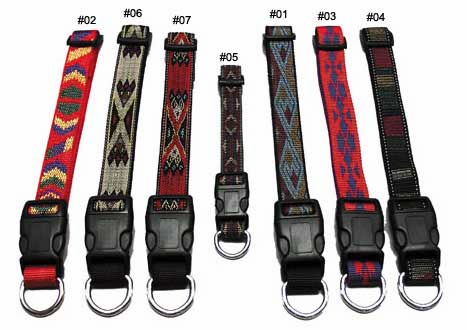 3/4 inch wide Southwest Dog Collars