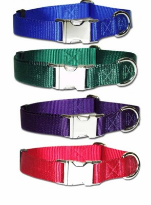 ALLMETAL Kwik Klip Adjustable Dog Collars 3/4 inch