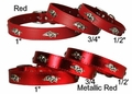 Arkansas Razorback Dog Collars