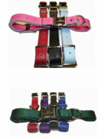 Engraved Buckle Collars