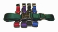 Personalized Metal Buckle Nylon Collars 1 Inch wide