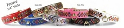 Festive Dazzle Dog Collar