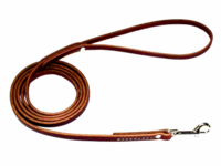 Flat Latigo Leather Leads