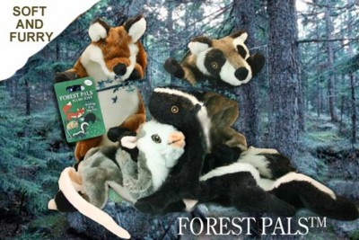 Forest Pals Dog Toys