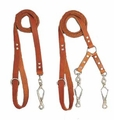 Frenchy Leather Dog Leads
