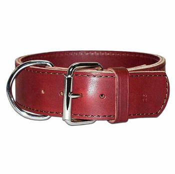 Heavy Duty Wide Leather Dog Collar Morrco Pet Supply
