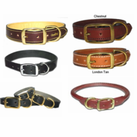 High Quality Leather Collars and Leads