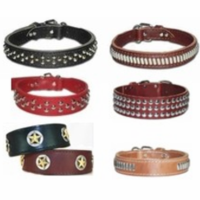 Leather Collars with Studs