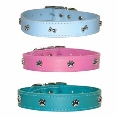 Leather Dog Collars 1/2 inch wide