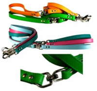Leather Dog Lead with Swivel