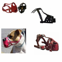 Leather Dog Muzzles