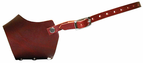 Light Weight Leather Muzzle