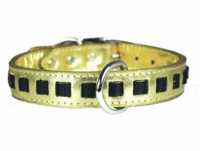 Louisiana Pride Gold Collar