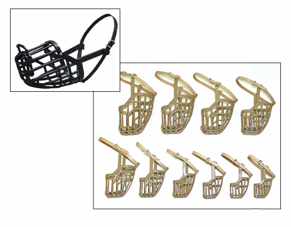 OmniPet Italian Basket Dog Muzzle (all 10 sizes)
