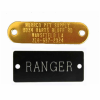 Personalized Name Plates for Dog Collars