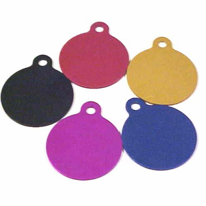 Personalized Round Hang  Pet Tag