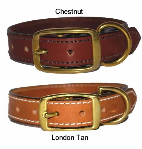 Premium 3/4 Leather Collar