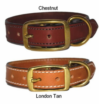 Premium Leather Dog Collars 1 in wide