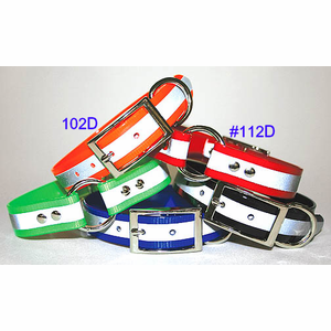 Reflective Stripe Collar 3/4 in wide