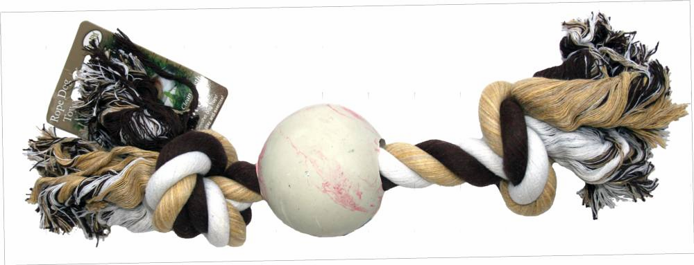 Rope Dog Toys with Ball