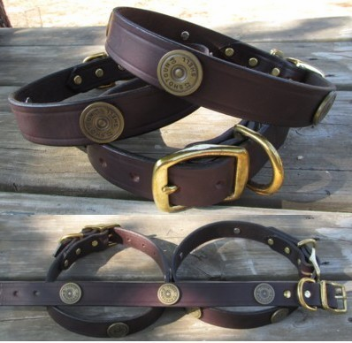 Shot Gun Shell Dog Collar