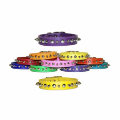 Spike and Stud Leather Collars For Big Dogs