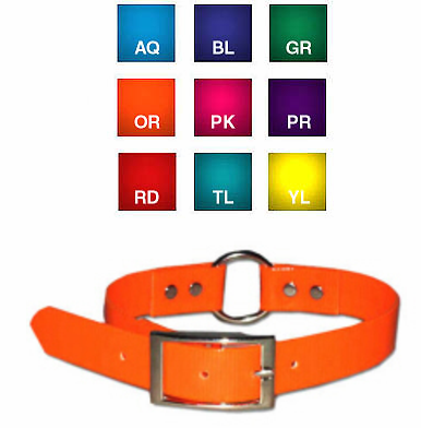 Sunglo Ring in Center Dog Collars size 25, 27