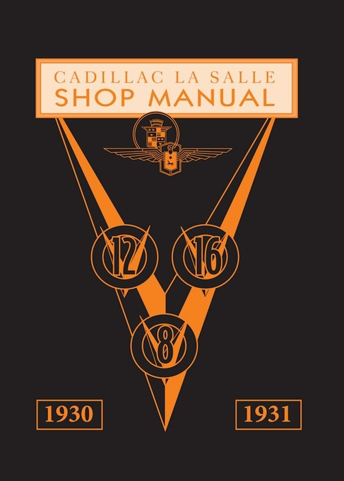 1930-1931 Cadillac LaSalle Shop Manual