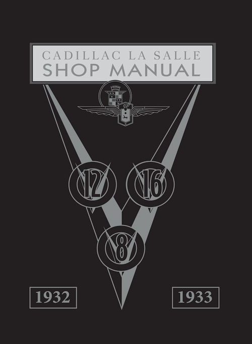 1932-1933 Cadillac LaSalle Shop Manual