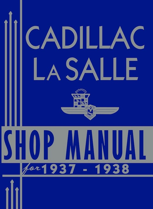 1937-1938 Cadillac LaSalle Shop Manual
