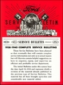 1938-1940 Ford Service Bulletins (Mechanical)