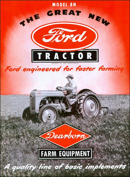 5 Star Auto Sales >> Ford Model 8N Farm Tractor Sales Brochure 1948-1959
