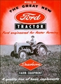 1948-1958 Ford Model 8N Farm Tractor Sales Brochure