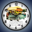 1955 Bel Air Convertible Wall Clock, LED Lighted