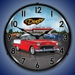 1955 Bel Air Diner Wall Clock, LED Lighted
