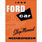 1956 Ford Cars & Ford Thunderbird Shop Manual