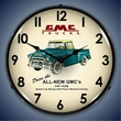 1956 GMC Trucks Wall Clock, LED Lighted