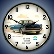 1957 Bel Air Convertible Wall Clock, LED Lighted