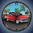 1957 Chevy Wall Clock, LED Lighted