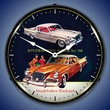 1958 Studebaker Hawk Wall Clock, LED Lighted