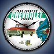 1959 Chevrolet Pickup Truck Wall Clock, LED Lighted