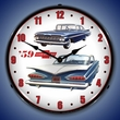 1959 Chevrolet Wall Clock, LED Lighted