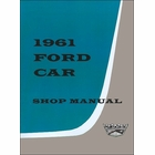 1961 Ford Fairlane,  Galaxie, Station Wagon Shop Manual