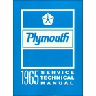 1964-1965 Plymouth Factory Service Manual