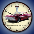 1964 Plymouth Sport Fury Wall Clock, LED Lighted