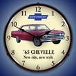 1965 Chevelle Wall Clock, LED Lighted