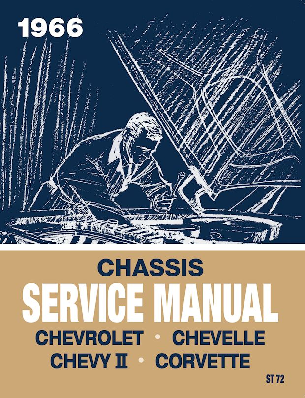 Chevrolet Chassis Service Manual Reprint - 1966